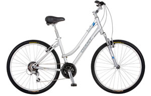 Giant Trail Glide 1 and 2 (silver and blue)